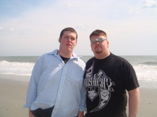 daniel and Ryan ..best friends ..taken at the beach earlier this year ...